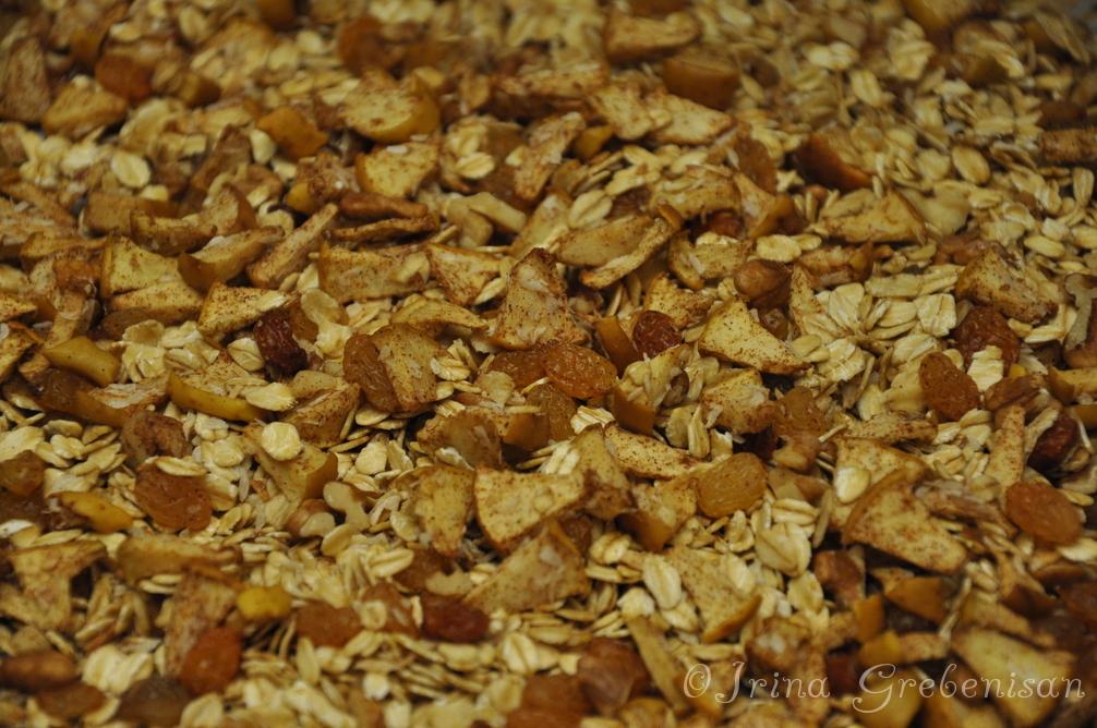 Cereale homemade cu nuci