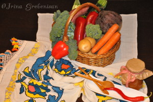 Cos legume zacusca