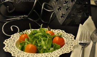 Salata de rosii cu rucola