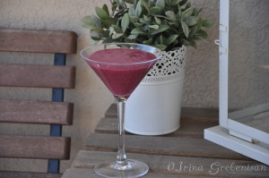 Shake-Smoothie fructe padure