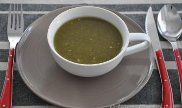 Supa de stevie cu linte verde